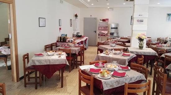 Dining Room In Hotel Katina