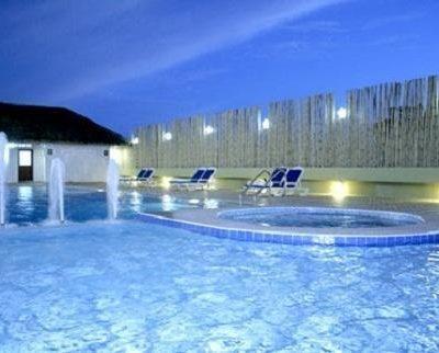 A Pool Inside Katina Hotel